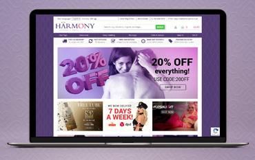 Harmony store front