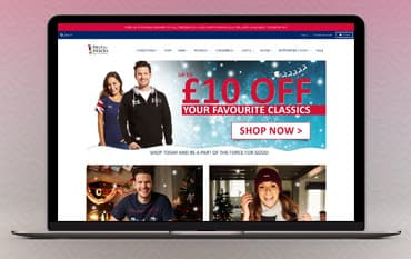 Help for Heroes store front