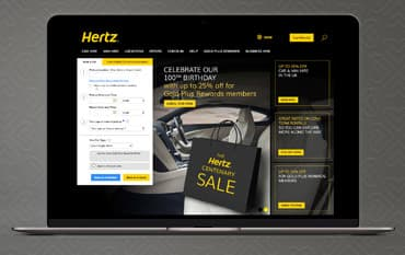 Hertz store front