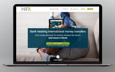 HiFX store front