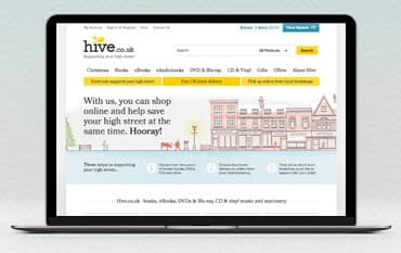 Hive store front