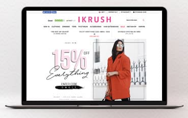 IKRUSH store front