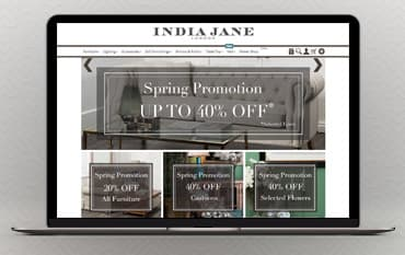 India Jane store front