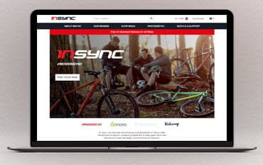 Insync Bikes store front