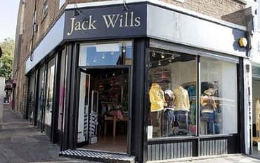 Jack Wills store front