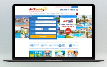 Jet2Holidays  store front