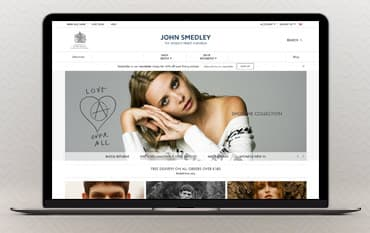 John Smedley store front