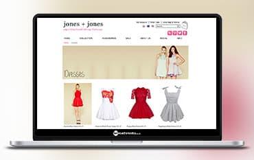 Jones and Jones store front