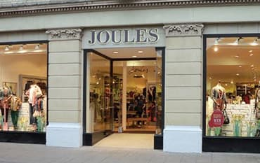 Joules store front