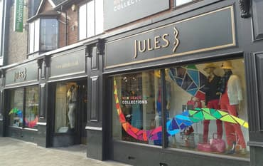 Jules B store front