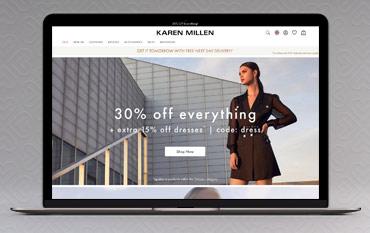 Karen Millen store front