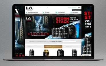 LA Muscle store front