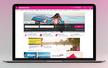lastminute.com store front
