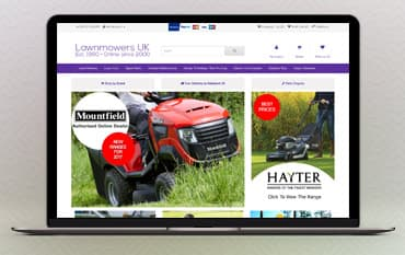 Lawnmowers UK store front
