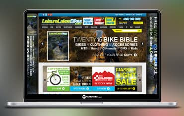 Leisure Lakes Bikes store front