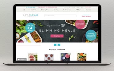 LiveLean store front