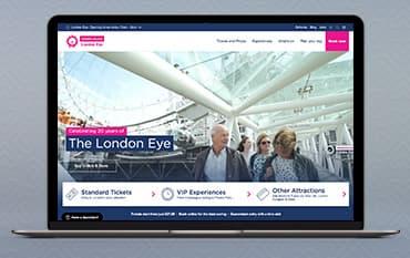 London Eye store front