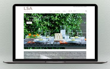 LSA International store front