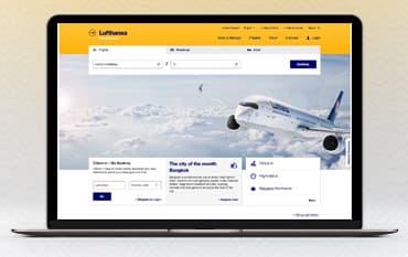 Lufthansa store front
