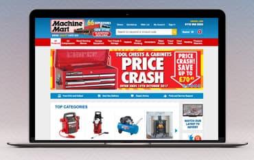 Machine Mart store front