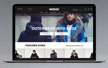 Mackage store front