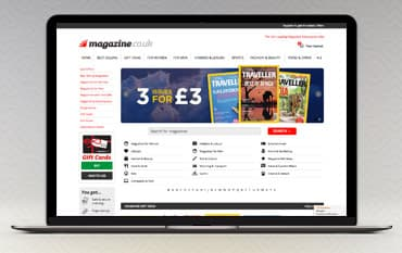 Magazine.co.uk store front