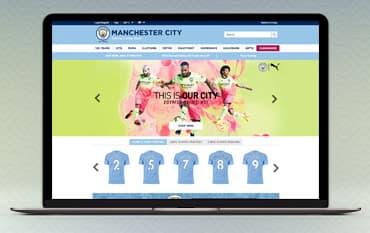 Manchester City Shop store front