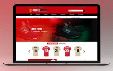 Manchester United Megastore store front