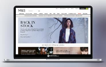 Marks and Spencer store front