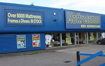 Mattressman store front
