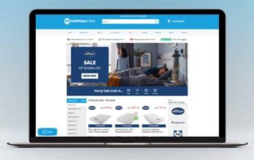 Mattress Online store front