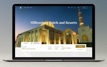 Millennium Hotels store front