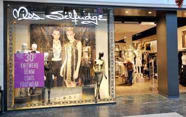 Miss Selfridge store front