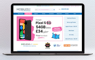 Mobiles.co.uk store front