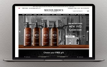 Molton Brown store front