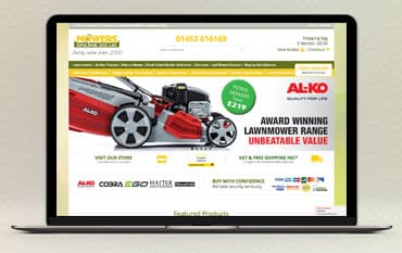 Mowers Online store front