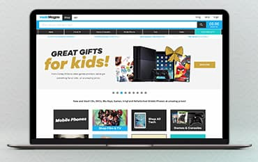 musicMagpie store front