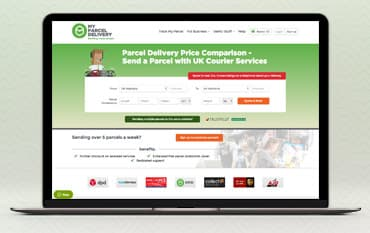 myParcelDelivery store front