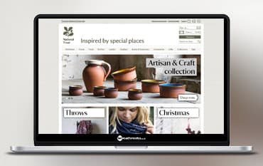 National Trust Online Shop store front