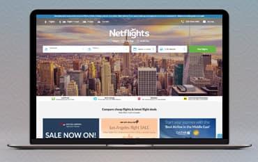 NetFlights store front
