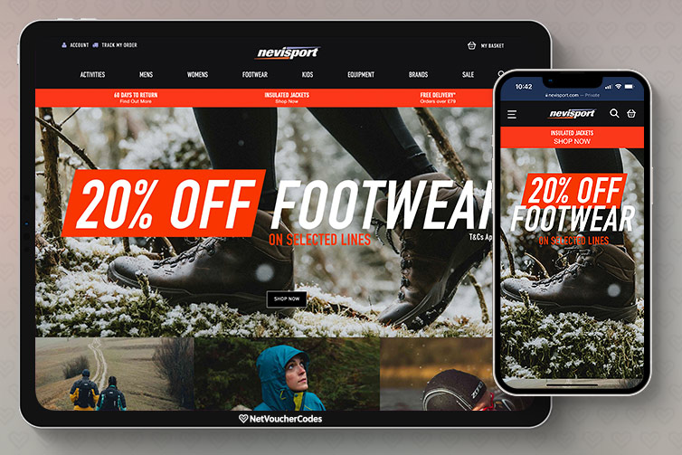 Nevisport is an outdoor clothing and equipment retailer, specialising in climbing, skiing, camping and general outdoor gear.