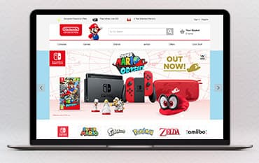 Nintendo store front