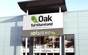 Oak Furniture Land store front