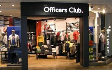 Officers Club store front