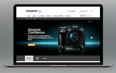 Olympus store front