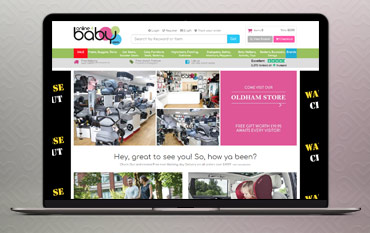 Online4Baby store front