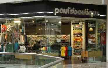 Pauls Boutique store front