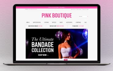 Pink Boutique store front