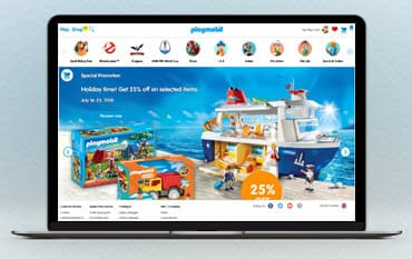 Playmobil store front