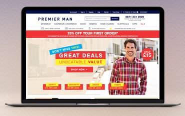 Premier Man store front